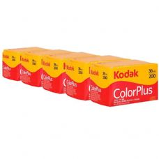 Kodak Color Plus 35mm 36 5 Pack